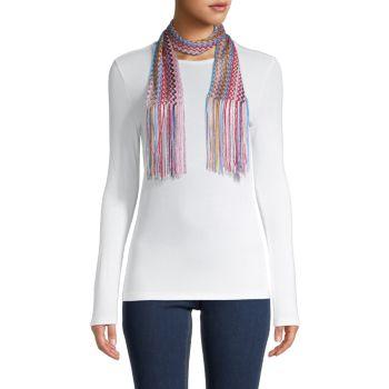 Текстурированный шарф с бахромой Missoni