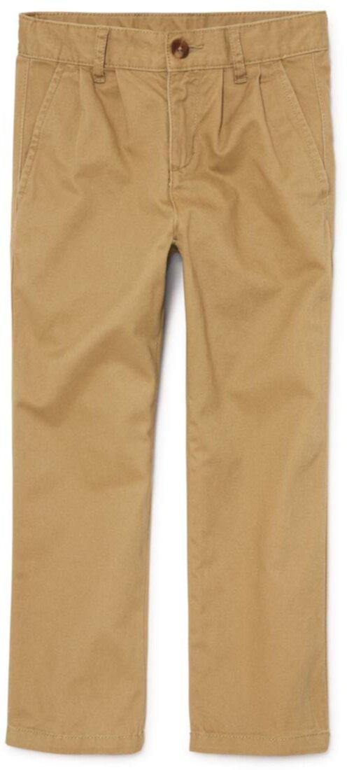 Униформа плиссированные брюки чинос (для маленьких / больших детей) The Children's Place