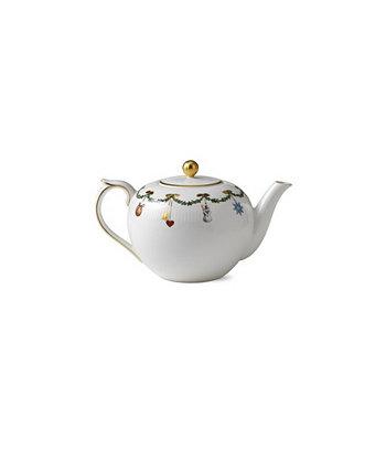 Рождественский чайник со звездами Royal Copenhagen