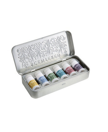 Wellbeing Ritual Aromatherapy Mini Tin Whole Collection Balm, набор из 6 штук, по 1,5 грамма Scentered