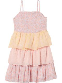 Платье Minka Tier (маленькие дети / большие дети) Bardot Junior
