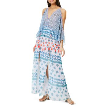 Платье Kaya с принтом Ramy Brook