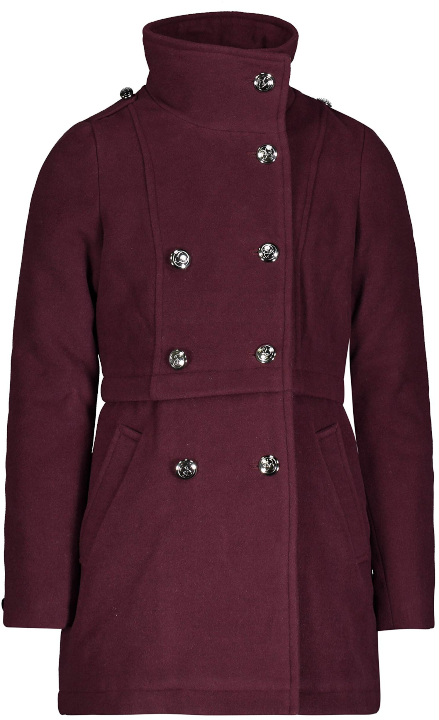 Классическое пальто-пиджак с уютным воротником Jessica Simpson