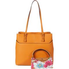 Однотонная сумка-тоут Daria с собираемой нейлоновой сумкой-портфелем Nanette Lepore