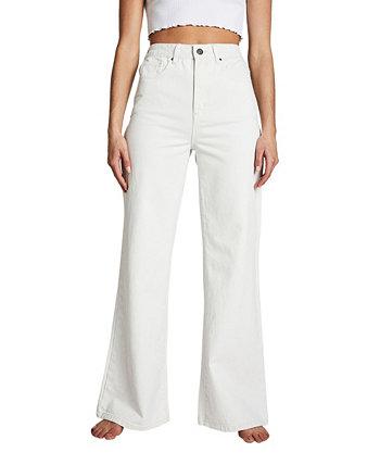 Длинные широкие джинсовые джинсы COTTON ON