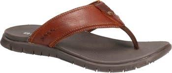 Leather Flip Flop Sandal B52 by Bullboxer