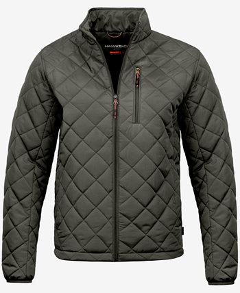 Мужская стеганая куртка Diamond, созданная для Macy's Hawke & Co.