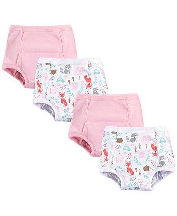 Детское видение 12 месяцев до 4T унисекс детские тренировочные брюки, 4 шт Hudson Baby