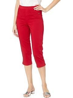 Джинсовый капри D-Lux в красном цвете FDJ French Dressing Jeans