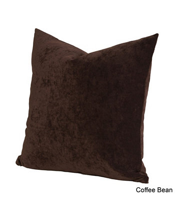 Дизайнерская европейская подушка Padma Coffee Bean 26 дюймов Siscovers