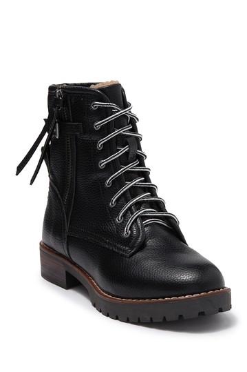 Ботинки Weslie на шнуровке на подкладке из искусственного меха Kensie