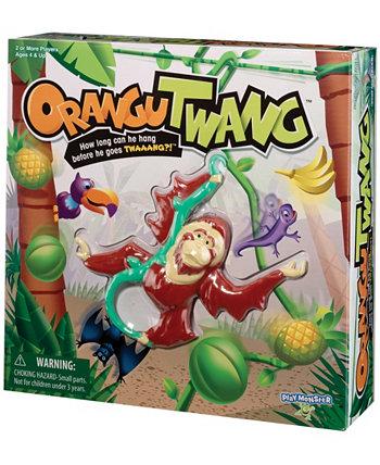 Игра для детей орангутванга - Как долго он сможет висеть, прежде чем пойдет на Твааанг ?! PLAYMONSTER