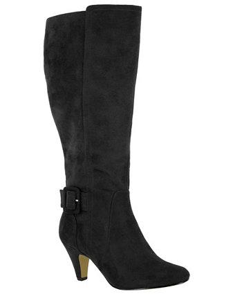 Высокие классические ботинки с широким голенищем Troy II Bella-Vita