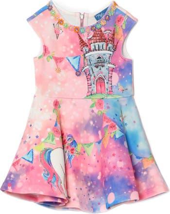 Платье с принтом Unicorn & Castle Truly Me
