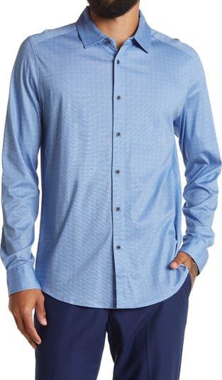 Рубашка Reguar с жаккардовым принтом и бриллиантами Raffi