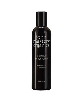 Шампунь для нормальных волос с розмарином лаванды - 8 эт. унция John Masters Organics