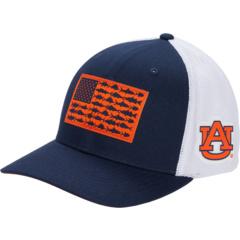 Auburn Tigers PFG Mesh ™ Крышка с мячом в виде флага рыбы Columbia College