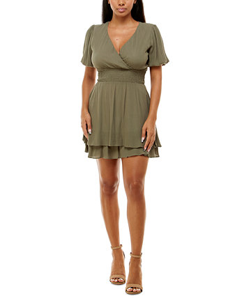 Текстурированное платье трапециевидной формы для юниоров B Darlin