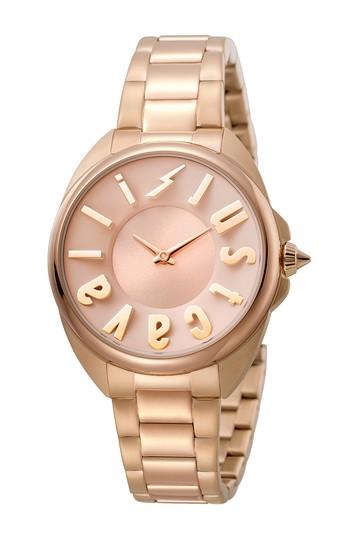Женские кварцевые часы с браслетом и логотипом, 34 мм Just Cavalli