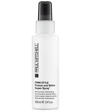Firm Style Freeze & Shine Super Spray, 3.4-oz., from PUREBEAUTY Salon & Spa PAUL MITCHELL