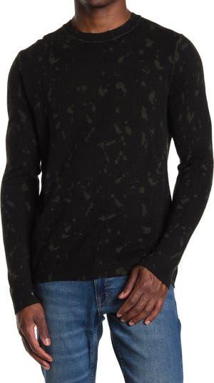 Кашемировый свитер с круглым вырезом и Inked Splatter Autumn Cashmere