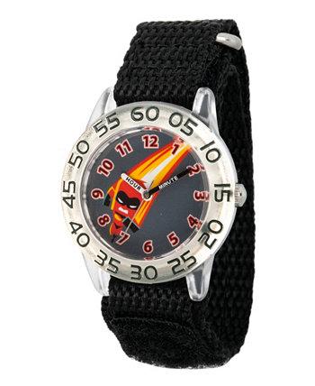 Disney The Incredibles 2 Dashiell Parr Boys 'Прозрачные пластиковые часы для учителей времени Ewatchfactory