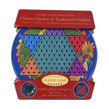 Олово для китайских шашек и традиционных шашек от John N. Hansen Co. John N. Hansen Co.