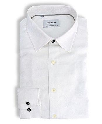 Пейсли жаккардовая классическая рубашка DUCHAMP