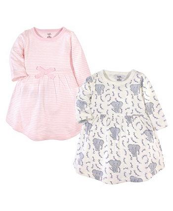 Baby Girl с длинным рукавом органическое платье 2 шт Touched by Nature