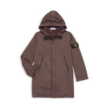 Little Boy's & amp; Длинная куртка для мальчиков Stone Island