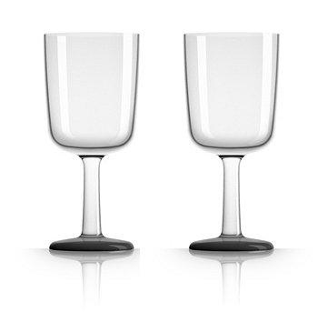 Palm Tritan - Небьющийся бокал для вина с черным нескользящим основанием, набор из 2 шт. Marc Newson