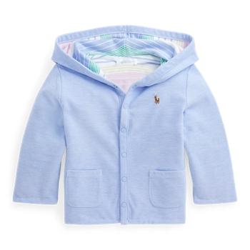 Двусторонняя куртка с капюшоном в сетку Ralph Lauren