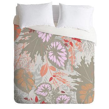Комплект пуховых одеял Iveta Abolina Alocasia Garden Twin Deny Designs