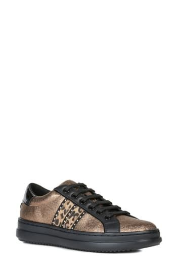 Кожаные кроссовки Pontoise Geox