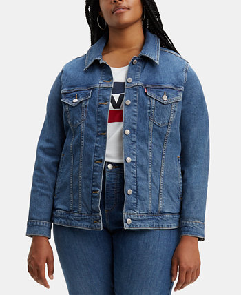 Модная джинсовая куртка больших размеров Trucker Levi's®