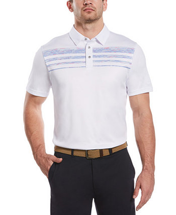 Мужская рубашка-поло, окрашенная в космос PGA TOUR