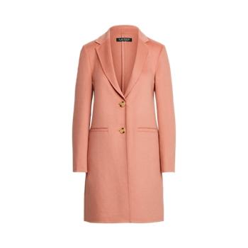Two-Button Wool-Blend Coat Ralph Lauren