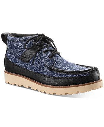 Мужские ботинки на шнуровке с принтом Kohen, созданные для Macy's Sun + Stone