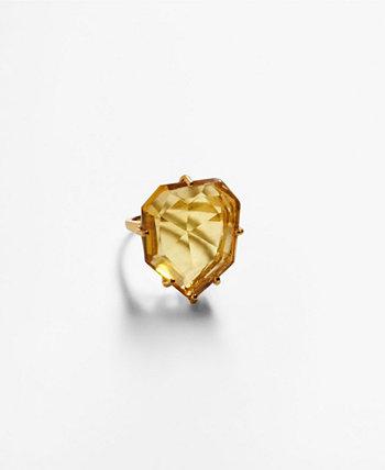 Женское кольцо с кристаллами и камнями MANGO