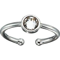 Кольцо с камнями апреля Alex and Ani