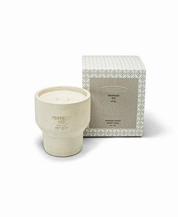 Cement Collection No. 2 Роскошная соевая свеча ручной заливки Reisfields NYC