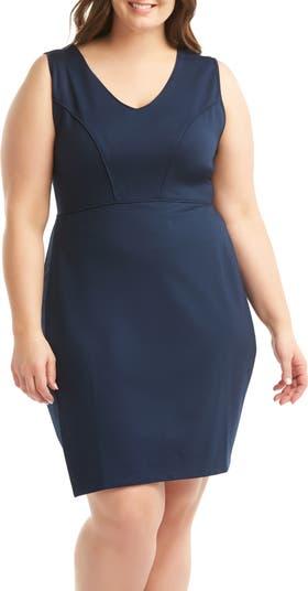 Платье-футляр без рукавов Aliyah LEMON TART