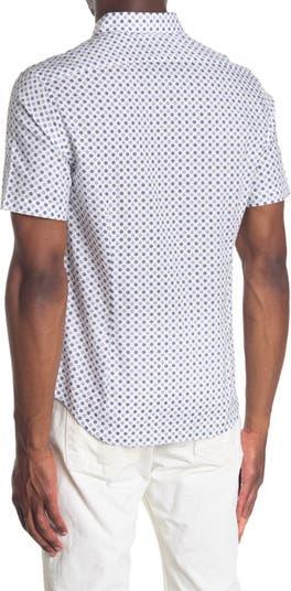 Тканая рубашка с короткими рукавами Point Good Man Brand