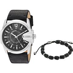 Подарочный набор часов и браслетов Master Chief DZ1907 Diesel