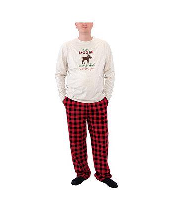 Семейные праздничные пижамы для больших мальчиков Hudson Baby