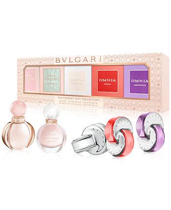 5-шт. Подарочный набор женских ароматов Bvlgari