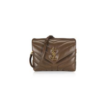 Ремешок для игрушек Кожаная сумка через плечо Loulou Matelassé Saint Laurent