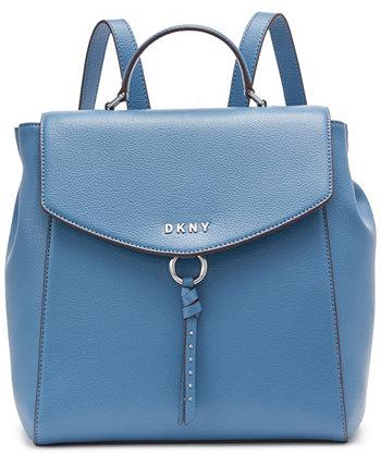 Лола кожаный рюкзак DKNY
