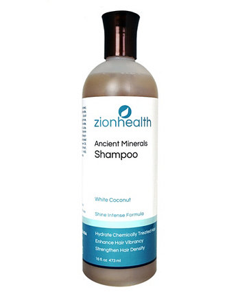 Белый кокосовый шампунь, 16 унций Zion Health