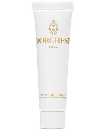 Крем для рук Splendide Mani Restorative Hand Creme Mini, 0,5 унции. Borghese